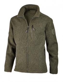 Hubertus Strickfleece Jacke M