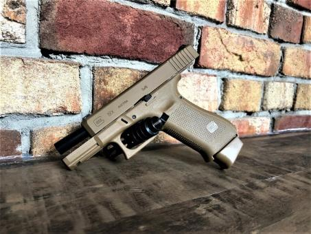 Glock 19X Pistole Coyote