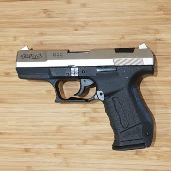 Walther P99 9mm P.A.K. bicolor