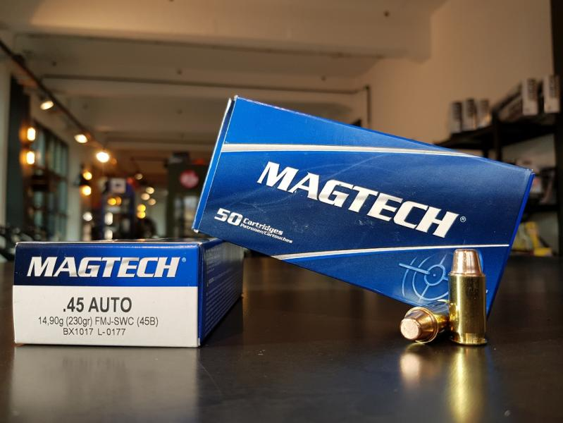 MAGTECH .45Auto FMJ-SWC 230grs