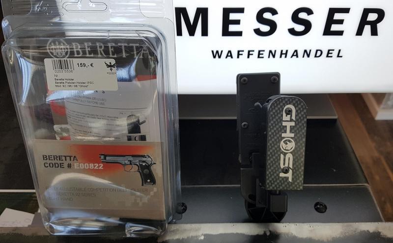 Beretta Pistolen Holster IPSC
