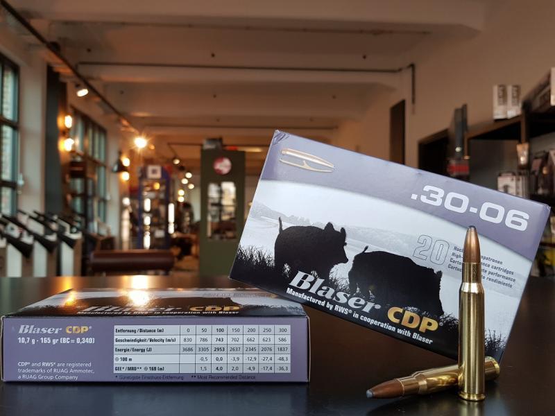 Blaser Munition .30-06 CDP