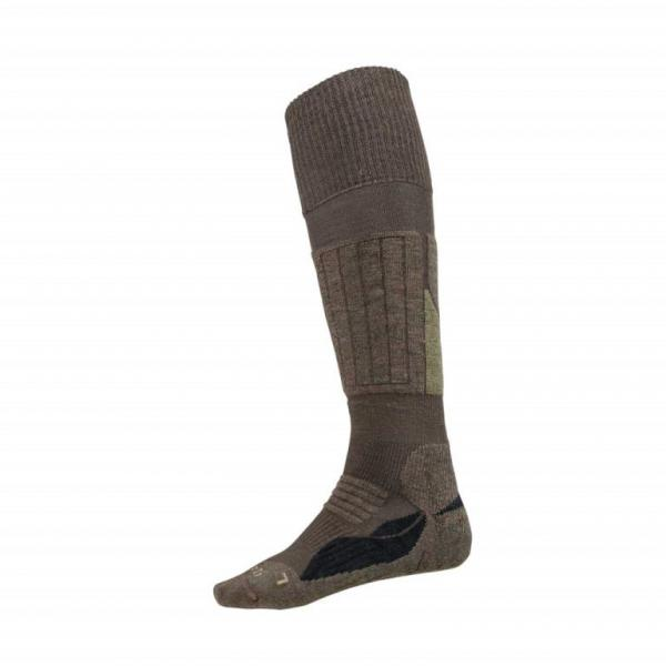 BLASER Socken lang 42-44 | grau-braun meliert
