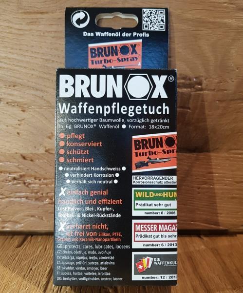 BRUNOX Waffenpflegetuch Box