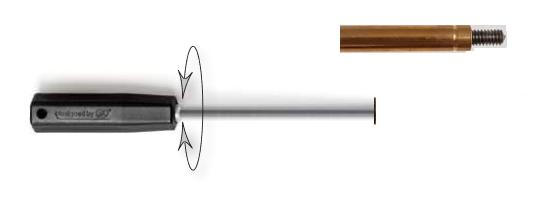 Carbonputzstock 90cm