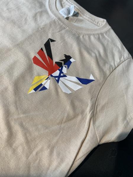 T-Shirt mit Aufdruck Gr. M M