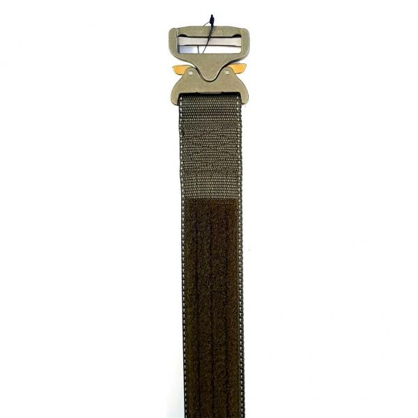 Dienstgürtel COBRA 95-105cm | steingrau-oliv