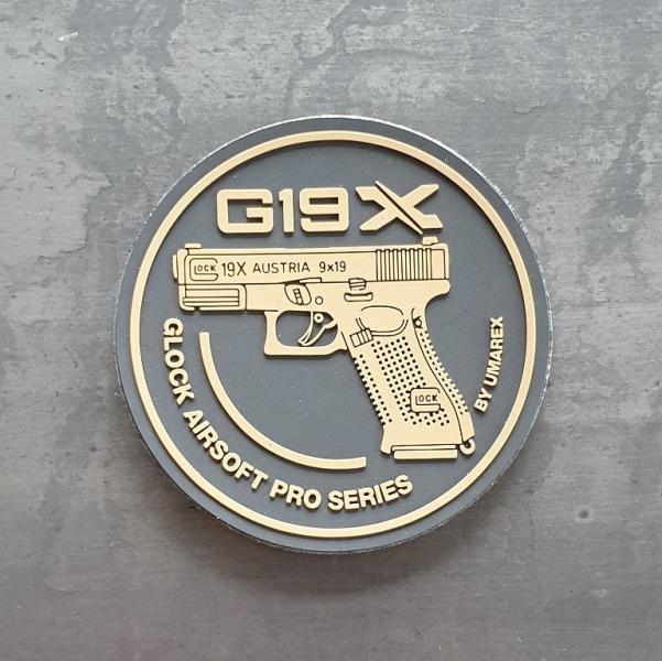 Rubberpatch Glock 19X