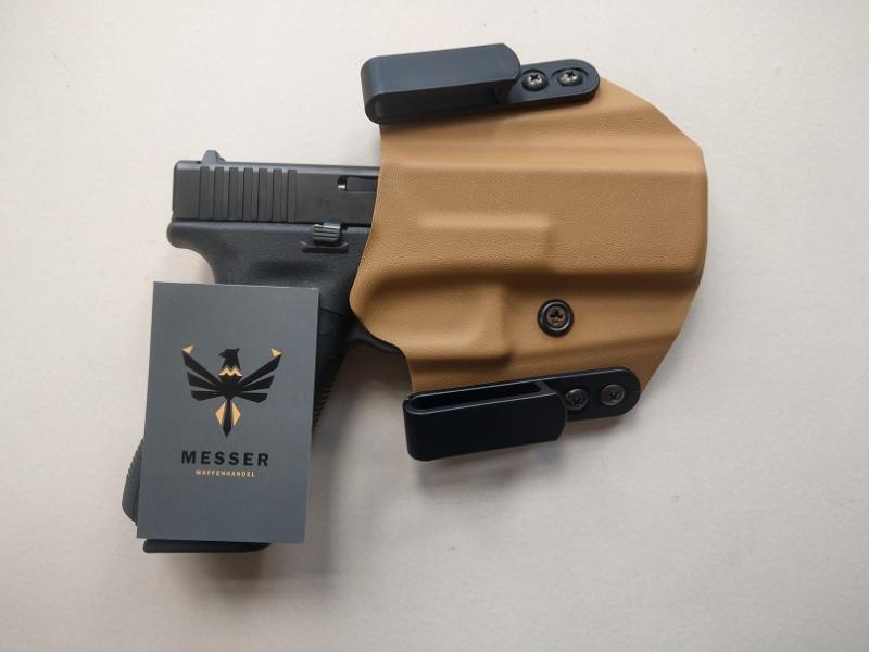 Holsterwerk FAST IWB Glock 17