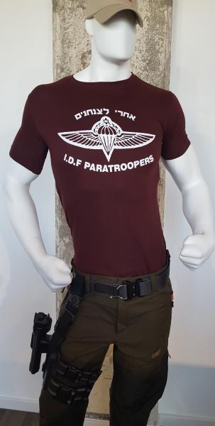 T-Shirt I.D.F Paratroopers L