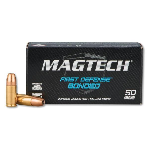 Magtech 9mm JHP Bonded 147grs
