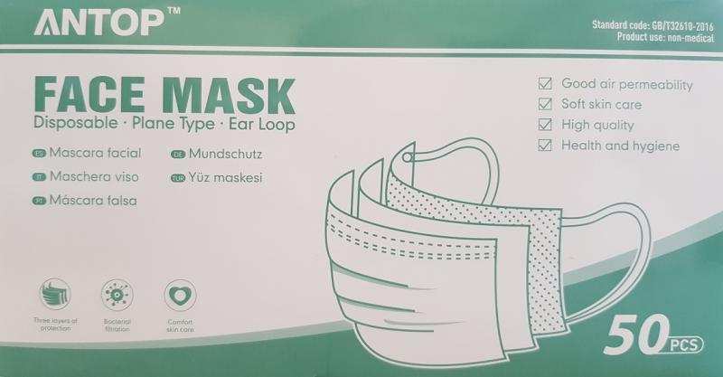 Mund Nasen Schutz-Masken