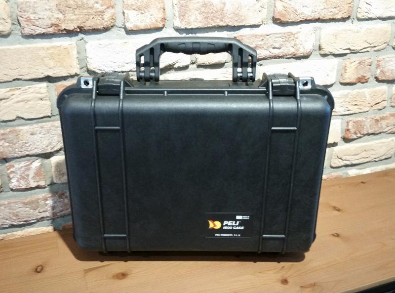 PELI CASE 1500 mit WF-Schaum
