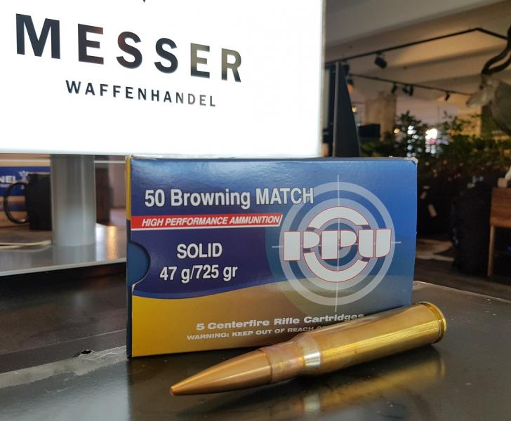 PPU .50 BMG Match Solid