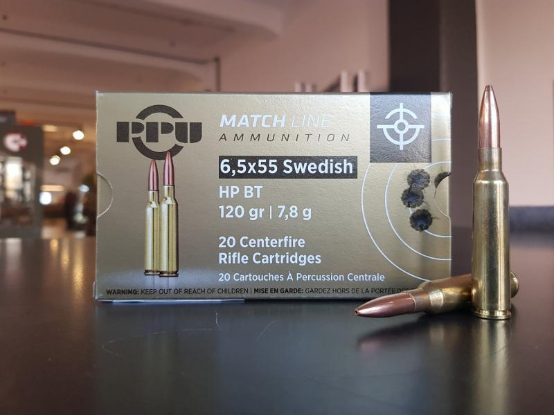 PPU 6.5x55 Swedish HPBT Match