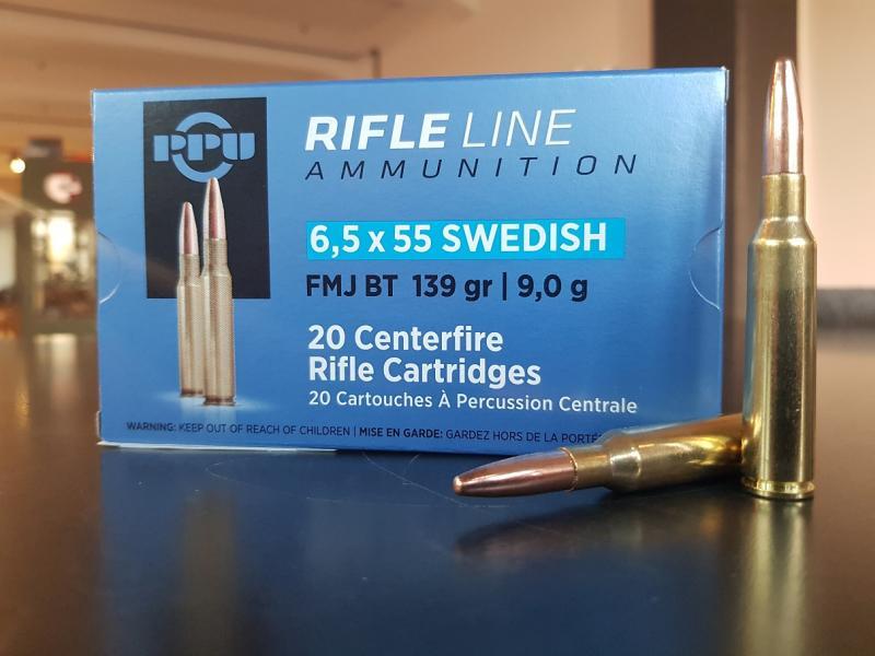 PPU 6.5x55 Swedish FMJBT
